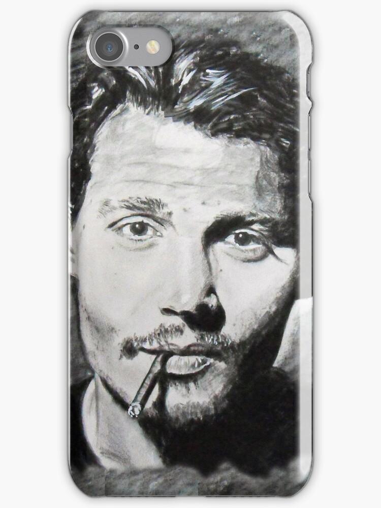 Johnny Depp (IPhone Case) by Antonio  Luppino
