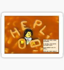 Alphabet Soup. Sticker