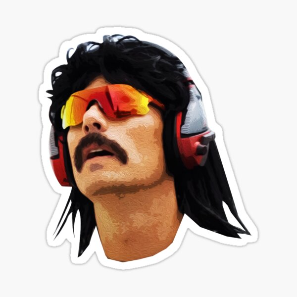 The Two Time Dr Disrespect Sticker