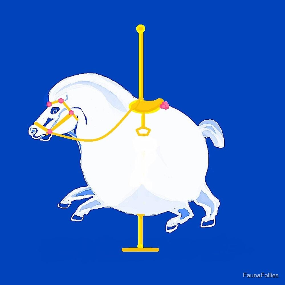 Fat  Carousel Horse by FaunaFollies