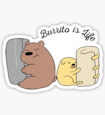 Burrito is Life Sticker