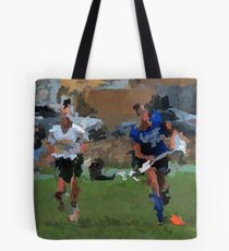091611 139 0 p & ink field hockey Tote Bag