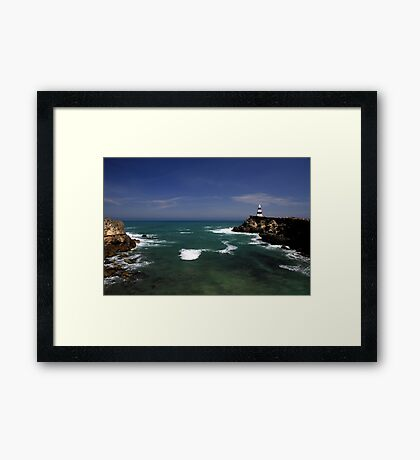 The Obelisk - Robe, SA Framed Print