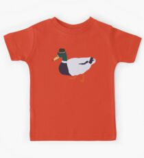 Fedora Duck Kids Tee
