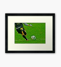 The Game Ball Framed Print