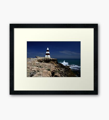 The Obelisk - Robe,SA Framed Print