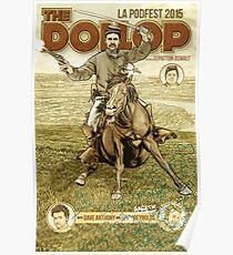 The Dollop - 2015 LA Podfest Poster: Boston Corbett Poster