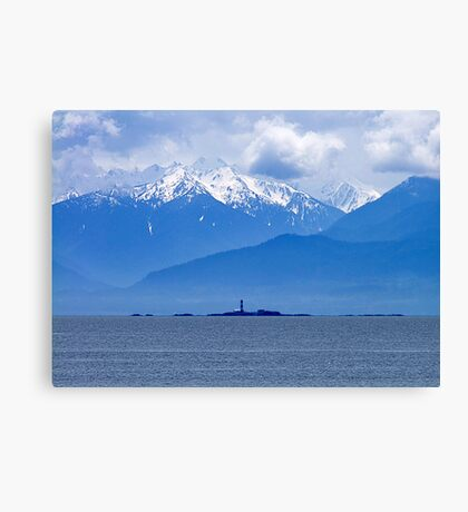 We Keep A Light Canvas Print