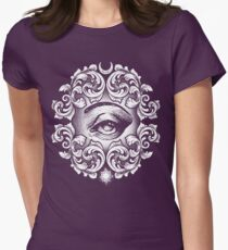 Third eye Women's Fitted T-Shirt