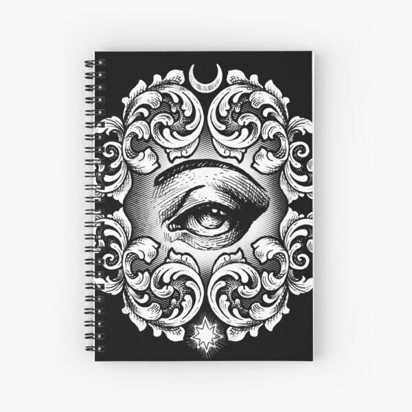 Third eye Spiral Notebook