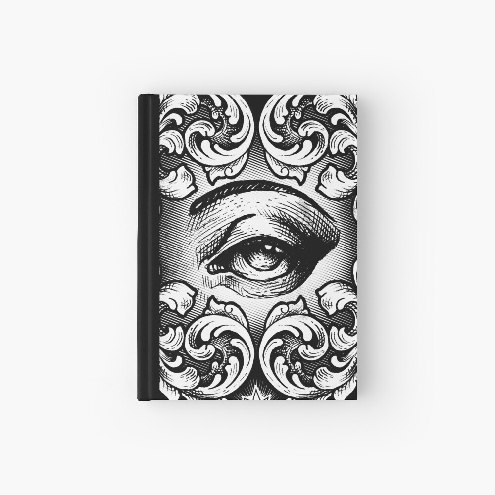 Third eye Hardcover Journal