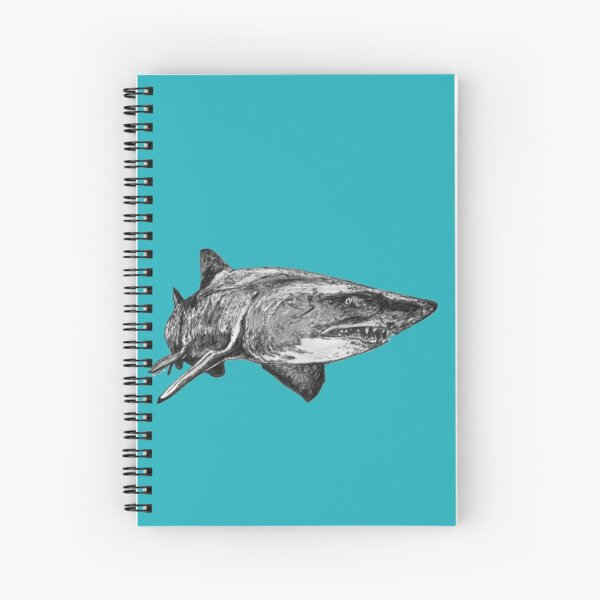 Mark the Grey Nurse Shark Spiral Notebook