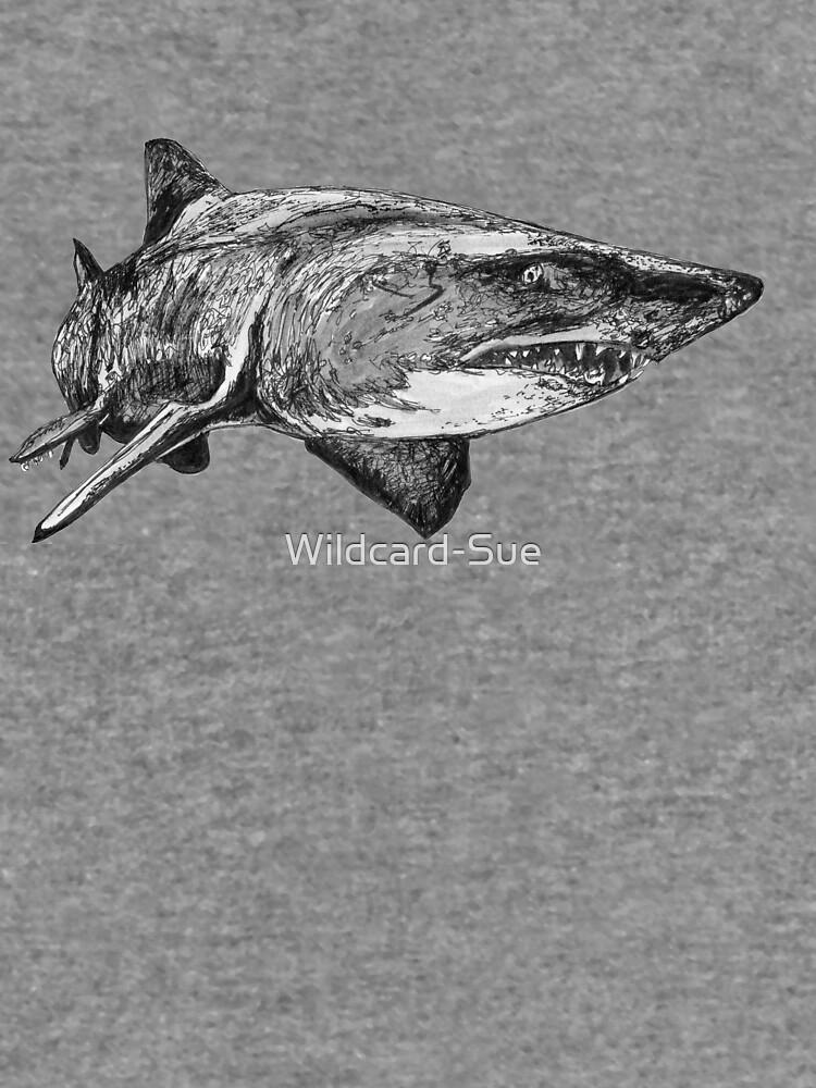 Mark the Grey Nurse Shark by Wildcard-Sue