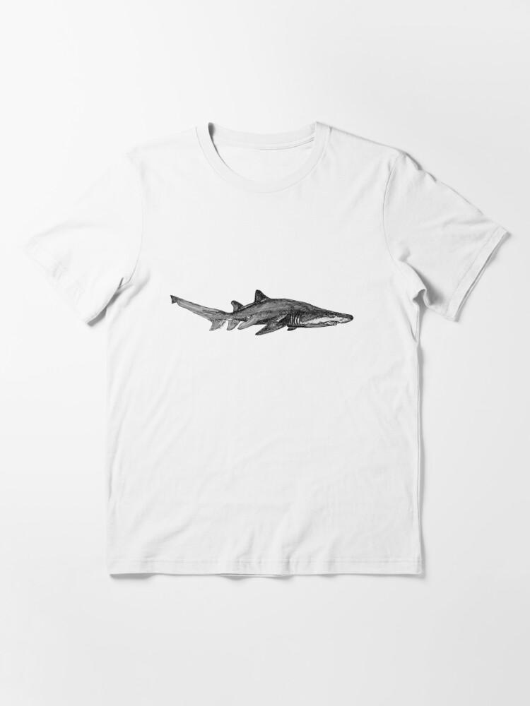 Alternate view of Trev the Grey Nurse Shark Essential T-Shirt