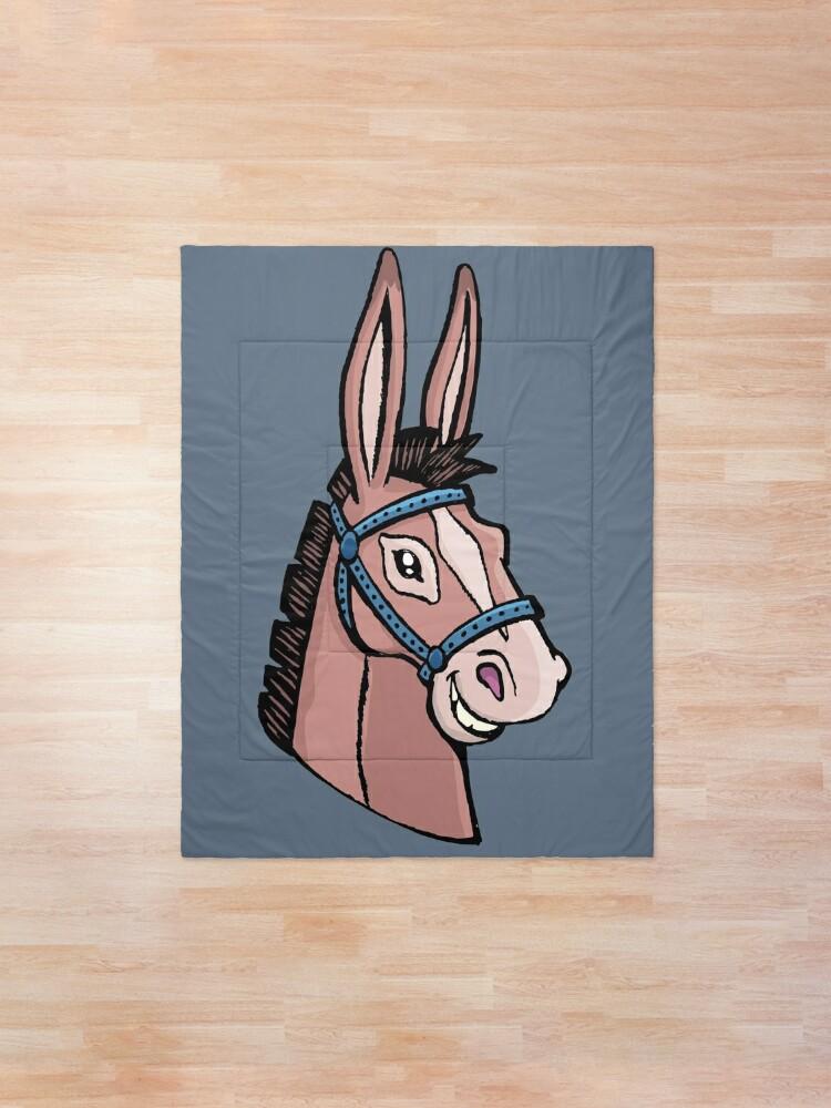 Alternate view of Mule head Comforter