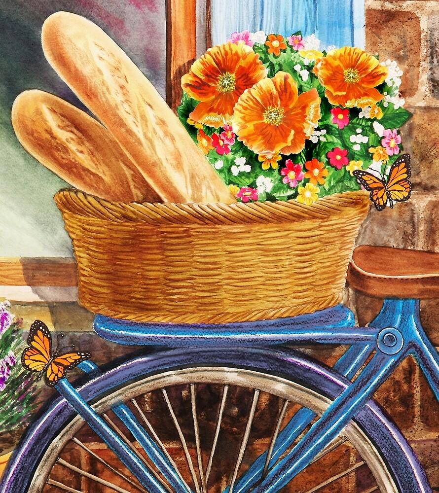 Free Ride To The Bakery by Irina Sztukowski