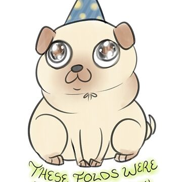 Party Pug by AllegroAlley