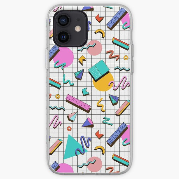 Funky 80s eighties Memphis Pattern Design iPhone Soft Case