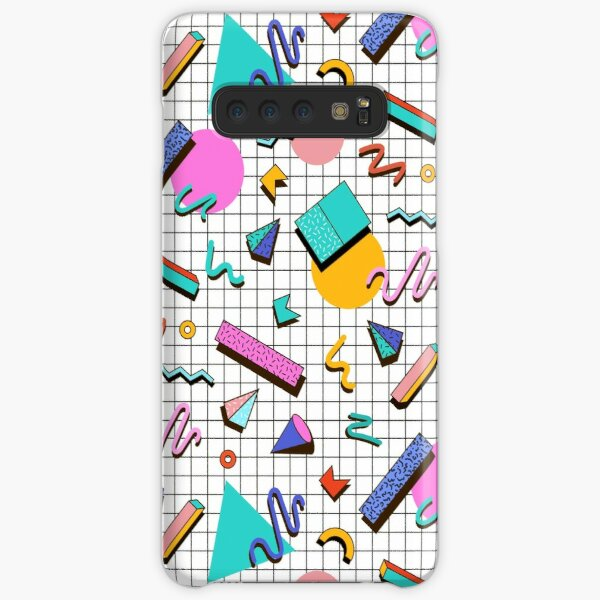 Funky 80s eighties Memphis Pattern Design Samsung Galaxy Snap Case