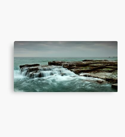 Ocean Tiers Canvas Print