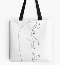 utterly exhausted  Tote Bag