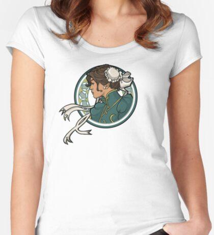 Chun-Li Nouveau Women's Fitted Scoop T-Shirt