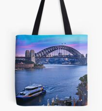 Sydney Harbour Sunrise Tote Bag