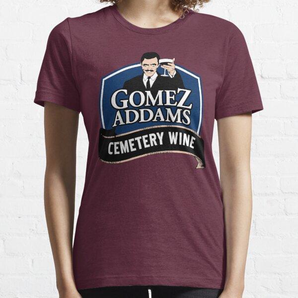 Gomez Addams Cemetery Wine Essential T-Shirt