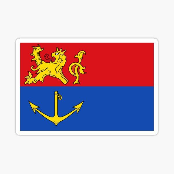 Flag of Venlo, Netherlands Sticker