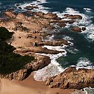 View from Knysna Heads by Roger Barnes