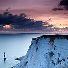 Sunset over Beachy Head by Ian Elmes