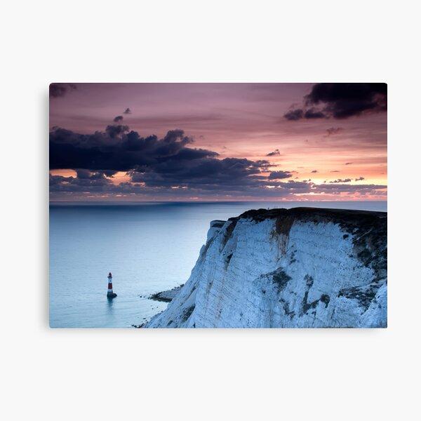 Sunset over Beachy Head Canvas Print