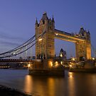 Tower Bridge at Sunset, London, UK by strangelight