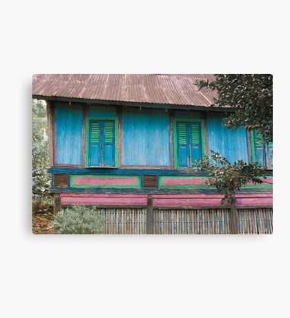 Minangkabau house Canvas Print