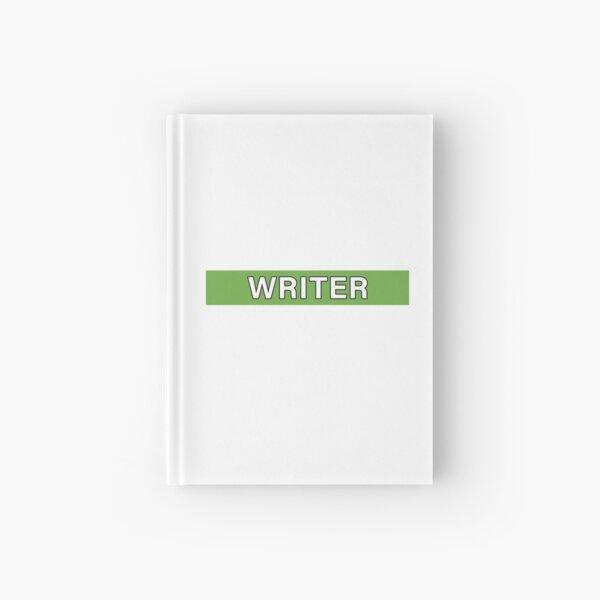 Writer Hardcover Journal