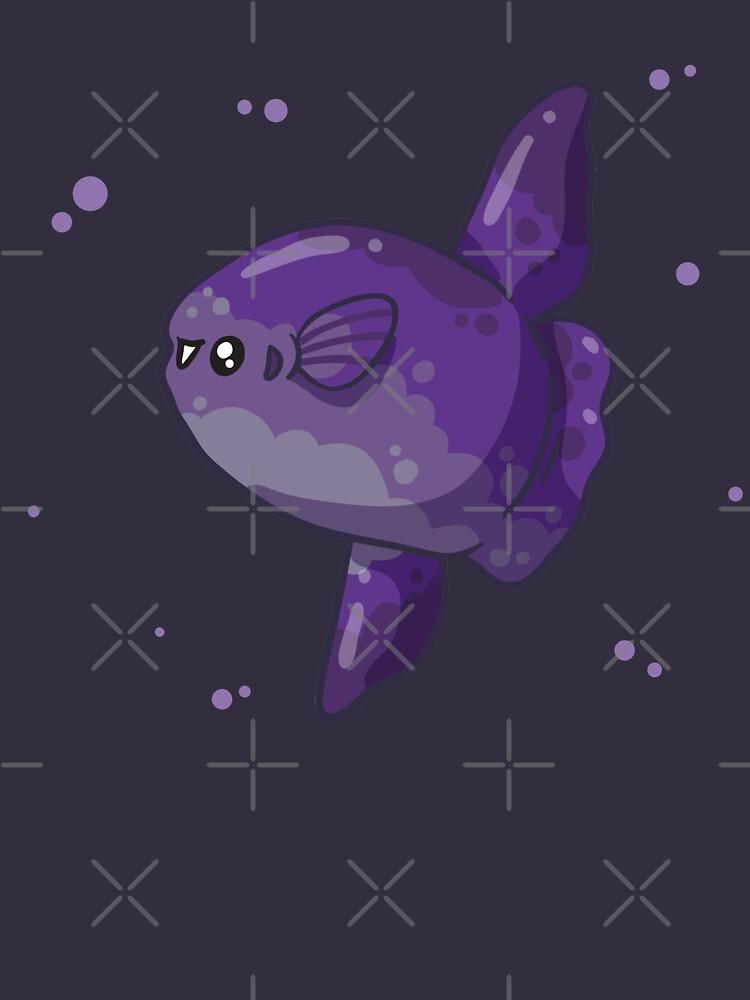 Ocean Sunfish / Mola Mola (Huevember 2018) by bytesizetreas