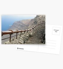 handrail with a view Postcards