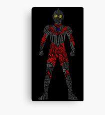 Ultraman of Many Words Canvas Print