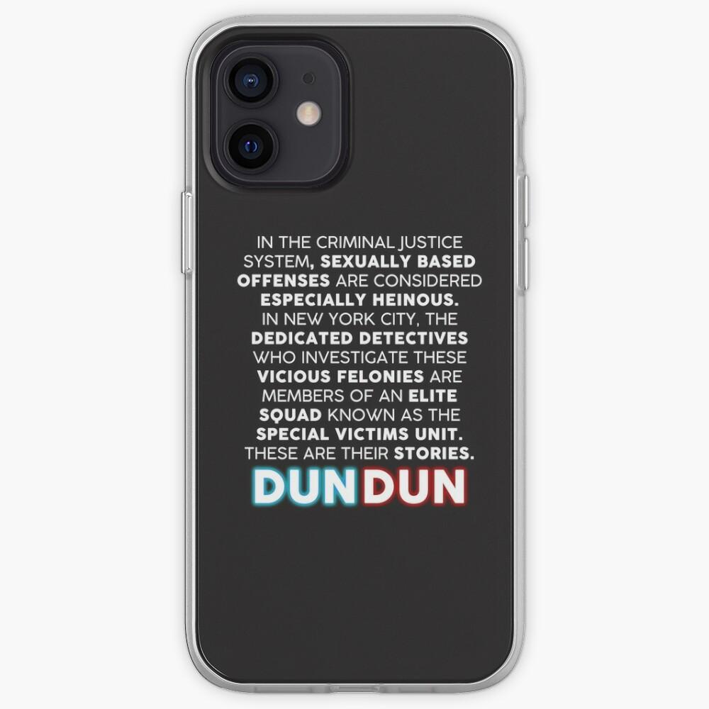 SVU Opening Speech iPhone Case & Cover