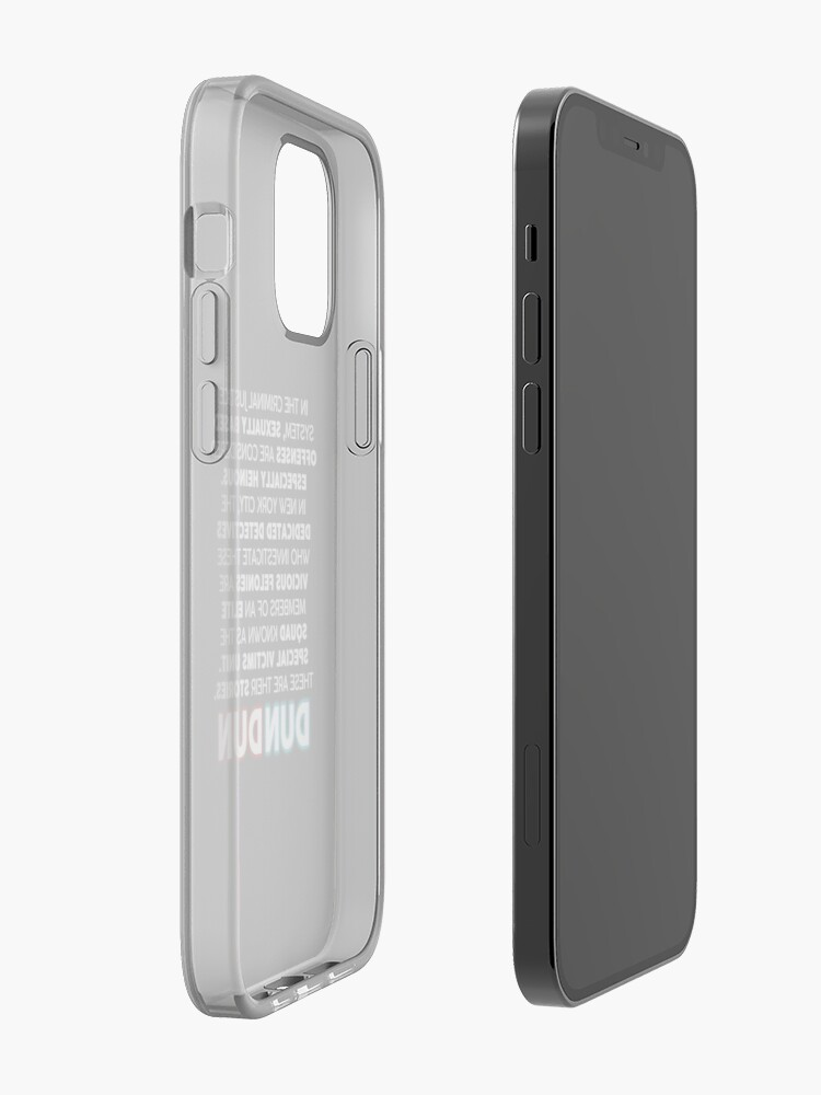 Alternate view of SVU Opening Speech iPhone Case & Cover