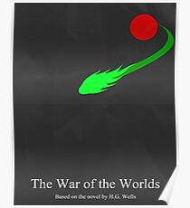 War of the Worlds Minimal 2 Poster