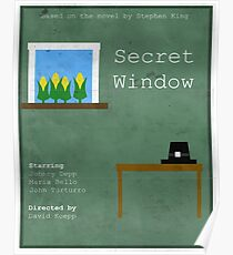 Secret Window Minimal Poster