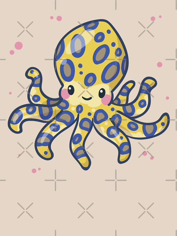 Blue-ringed Octopus (Huevember 2018) by bytesizetreas