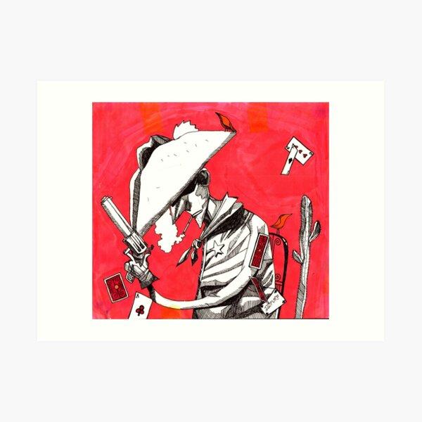 Cowboy (Volatile) Art Print