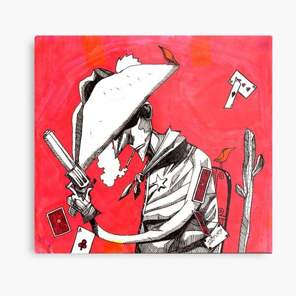 Cowboy (Volatile) Metal Print