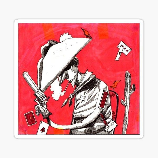 Cowboy (Volatile) Sticker