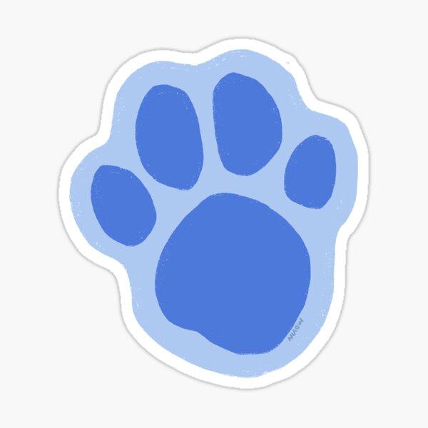 Blues Clues Paw Pegatina