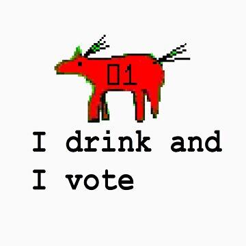 Drink n Vote by crazyhorse