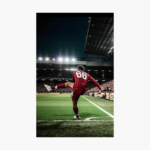 Best Poster Trent Football Player Arnold Corner Kick Liverpool Art Print Barcelona Vs Sport Champions 2019 Photographic Print
