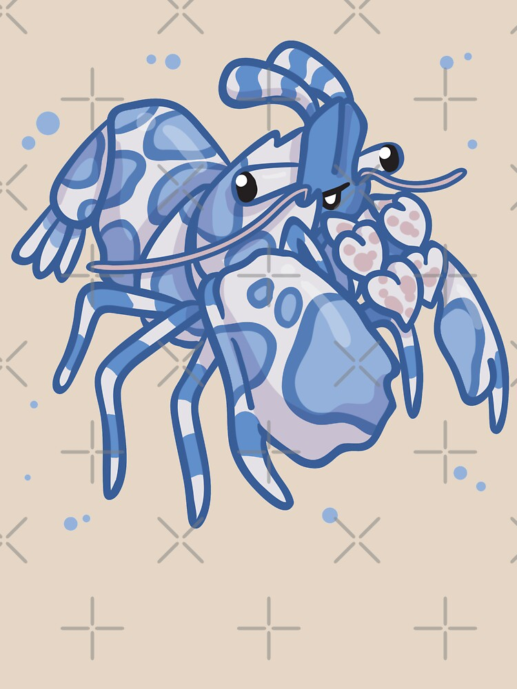 Harlequin Shrimp (Huevember 2018) by bytesizetreas